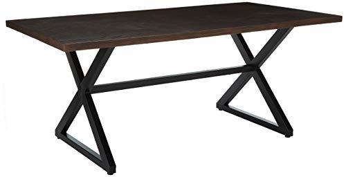Amazon.com: Rosarito exterior aluminio mesa de comedor café ...