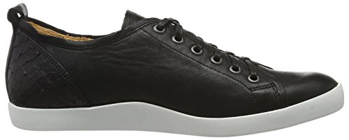 Think Seas, Zapatos de Cordones Derby para Mujer Negro (Sz/kombi 09)