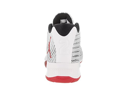 Jordan Gym Sneakers White Uomo B Fly White Red black Red Nike dwx87nd