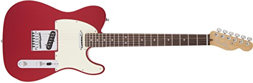 Fender American Deluxe Telecaster, RW, Candy Apple - Telecaster American Fender Standard