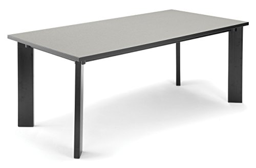 OFM LIB3672- GRAY Library Table, 36 by 72-Inch, Gray Nebula