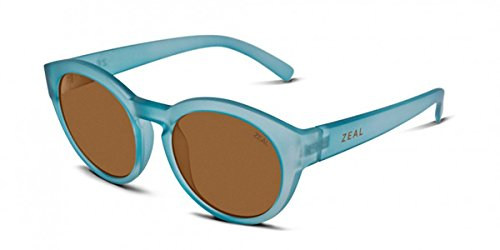 Zeal Optics Unisex Fleetwood Telegraph Blue W/ Polarized Copper Lens One Size by Zeal