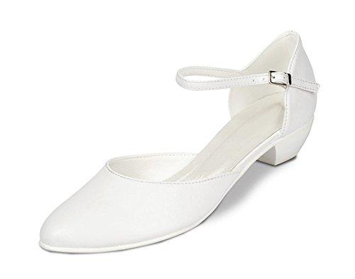 Hochzeitsschuhe Schuhe Hochzeit Absatzhöhe cm 2 flache Weiß 5 Braut Brautschuhe Pumps H1UBOZwwq