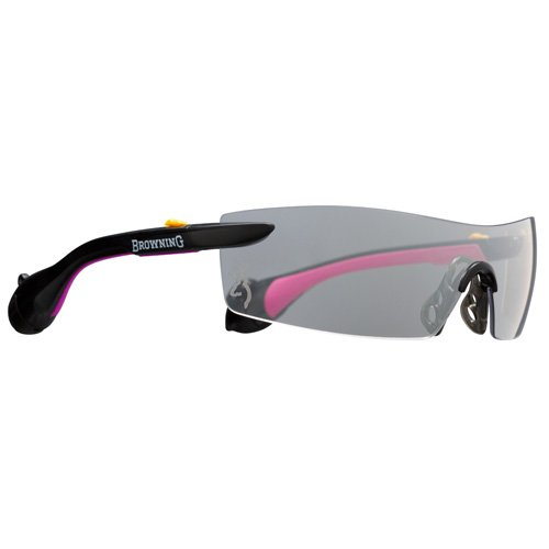 Browning Sound Shield Indoor/Outdoor Shooting Glasses, Pink