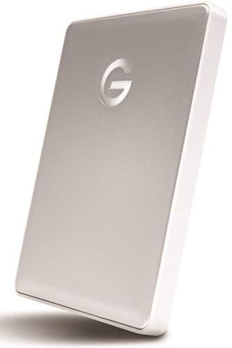 G-Technology 0G10264 1TB G-Drive Mobile USB-C Portable Hard Drive - Silver
