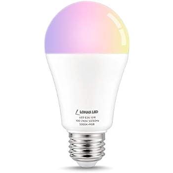 LOHAS Smart LED Light Bulbs,Voice Control Lighting (Smart Multicolor-A19-1Pack)