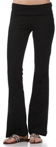 Cheap Zenana FOLD Over Waist Yoga Pants (2X)