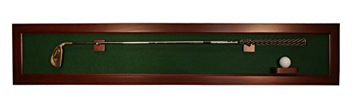 Horizontal Framed Golf Club Display with Ball Mount (42-Inch)