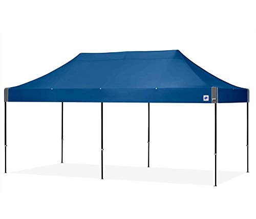 American Phoenix 10x10 10x15 10x20 [White Frame] Portable Event Canopy Tent, Canopy Tent, Party Tent Gazebo Canopy Commercial Fair Shelter Car Shelter Wedding Party Easy Pop Up (Blue, 10x20) (Gazebo Walmart Patio)