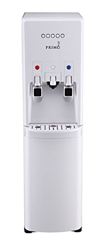 Primo hTrio Water Dispenser with Personal, Single Serve Coffee Brewer, compatible with K-Cups | Hot and Cold - Dispenser Water Primo Bottom Load