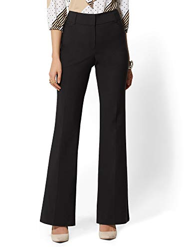 New York & Co. 7Th Avenue Pant - Mid Rise - Bootcut - 14 Black