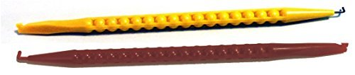 Red & Yellow 7 Telecom Probe Spudger Phone Tools with Insulated & Non Insulated Hook Made in USA