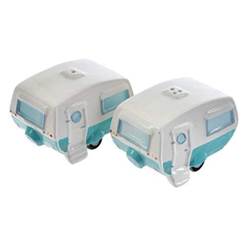 Puckator-Salt-PepperCondimentCruet-Set-Caravan-Ceramic-Multi-Height-Width-9cm-Depth-6cm