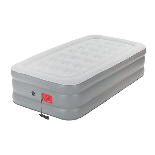 Coleman Support Rest Twin Elite Air Bed with Built-In Pump, 20