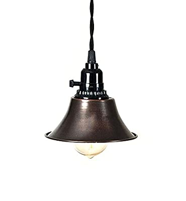 Tavern Pendant Lamp in Aged Copper