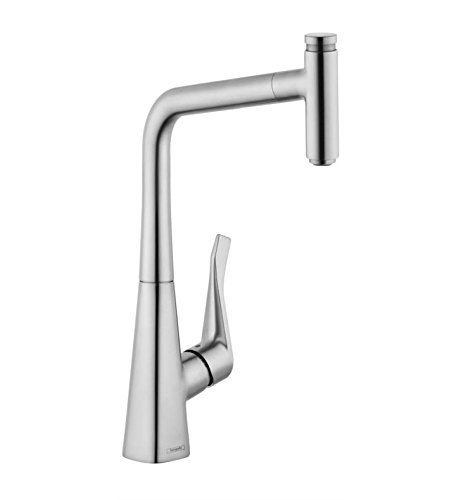 Metris Select HighArc pull-out Kitchen faucet by Hansgrohe