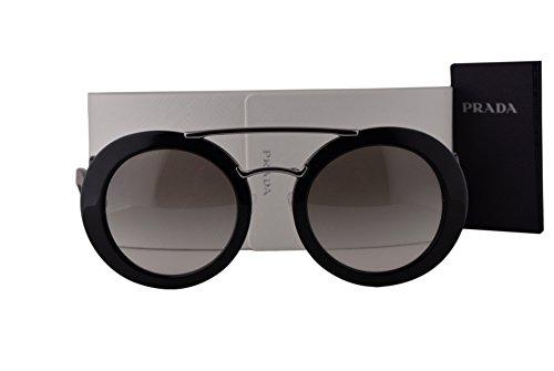 Prada PR13SS Sunglasses Black w/Gray Gradient Lens 1AB0A7 - Limited Prada Sunglasses Edition