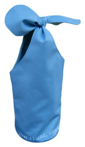 Fine Whines Bow Bottle Bag, Cornflower Blue ()