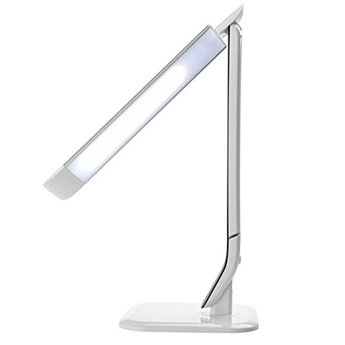 MOXIN Led Lamp Touch Eye Protection Desktop Lights 10W Usb Fold Reading Light Adjustable Color Temperature Creative For Bedroom Office , White light
