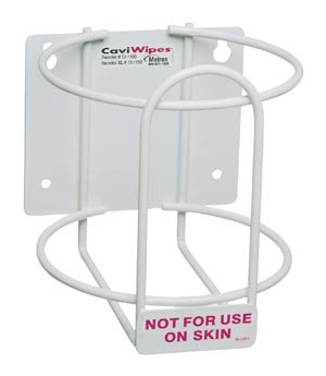 METREX CAVIWIPES DISINFECTING TOWELETTES Accessories: Wall Bracket For CaviWipes, 12/cs (24 cs/plt)