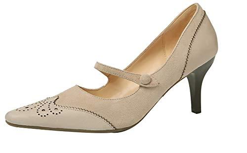 Puntiaguda tac Arraysa 7CM Punta Ponerse Qaicq de Zapatos Mujer tqwqZH8g