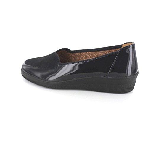 Navy Femmes Confort Blanche 76 Bleu 404 96 Chaussures Gabor Patent xA6Fqawa