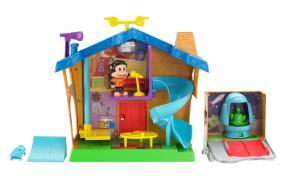Amazon Com Fisher Price Julius Jr Rock N Playhouse Box