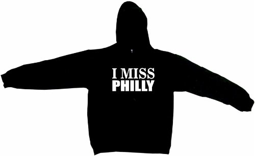I Miss Philly Men's Hoodie Sweat Shirt XL, ()