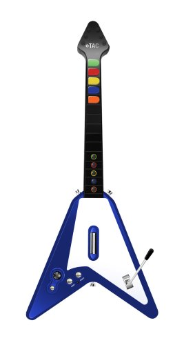 Wireless Guitar Double Range - Blue - Playstation 2/Playstation 3 (Wireless Guitar Tac)