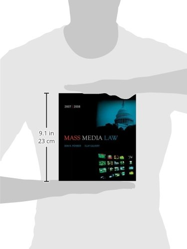 Mass Media Law, 2007/2008 Edition with PowerWeb by McGraw-Hill Humanities/Social Sciences/Languages