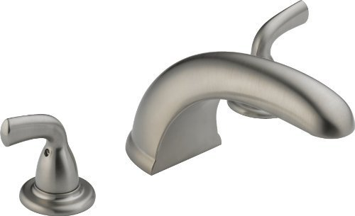 Delta Foundations BT2710-SS Roman Tub Trim, Stainless by DELTA -