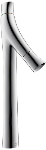 AXOR AXOR Starck Organic  Avantgarde 2-Handle  17-inch Tall Bathroom Sink Faucet in Chrome, 12013001 Axor Starck Two Handle