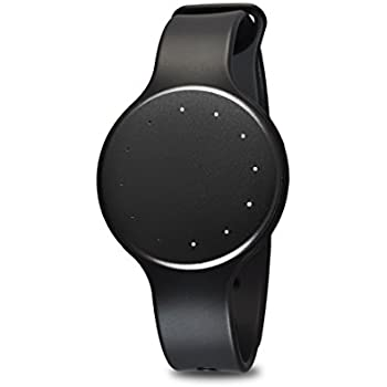 Fitmotion Wearable Activity Tracker and Sleep Monitor Fitness Wristband Watch - Waterproof, Syncs Wirelessly With Bluetooth Compatible Apple and Android Smartphones - Black