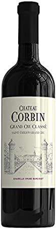 X6 Château Corbin 2015 37,5 cl AOC Saint-Emilion Grand Cru Classé Rouge Vino Tinto