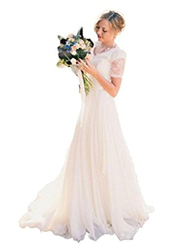 inexpensive beach wedding dresses - 3