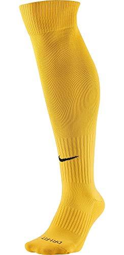 - Nike Classic II Cushion Over-The-Calf Soccer Football Socks (Large, University Gold/Black)