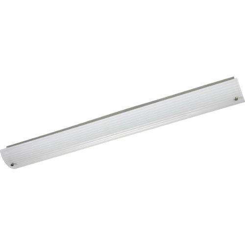 Progress Lighting P7221-09EB 49-Inch Linear Fluorescent Vanity with ribbed ()