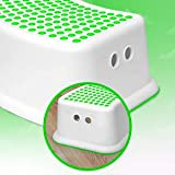Kids Green Step Stool - Great for Potty