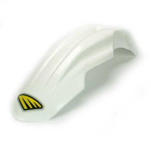 (Cycra 1CYC-2600-42 Universal White Plastic Motorcycle Supermoto Fender)