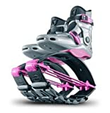 Kangoo Jumps Power Shoes (Child's Model) (Silver & Pink, Boy's 1-3 Girl's 2-4)