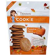 Mrs.Thinster's Cookie Thins, Pumpkin spice, (2 Pack)