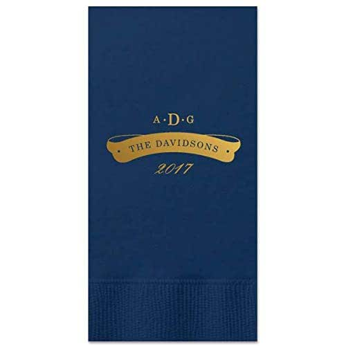 Amazon.com: Custom Wedding Guest Towels For Cocktails