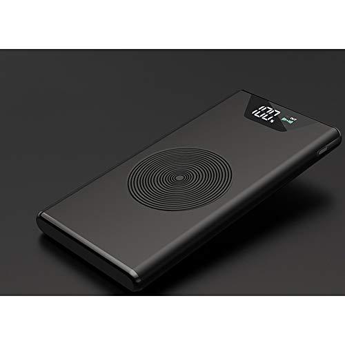 XIAYU Pantalla Digital inalámbrica Carga Tesoro Dual U10000 mAh rápido Carga QI inalámbrico Cargador Regalo móvil Poder...