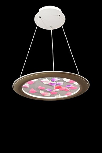 Ceiling Light Pendant Fixture Linear Suspension Chandelier By Modin (18'') by Hardware House