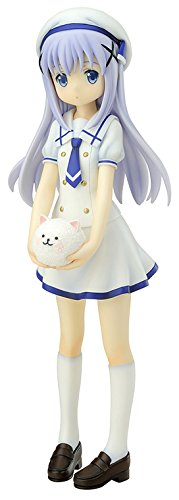 QuesQ is The Order a Rabbit: Chino Kafu (Summer Uniform) PVC Figure Statue (1:7 Scale)