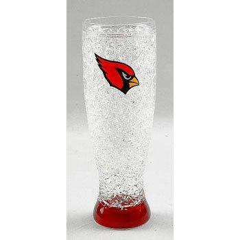 Arizona Cardinals Crystal Pilsner Glass (Cardinals Beer Mug)