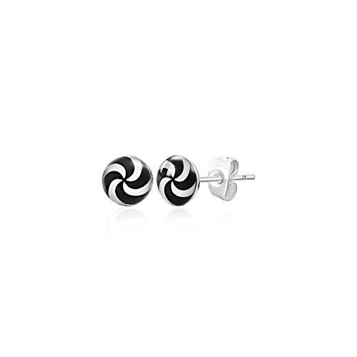 Clous d'oreille acier logo Tornado