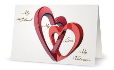 Amazon Valentines Day Love Husband Heart Romantic Hearts Spouse Greeting Card 5x7 By QuickieCards Health Personal Care