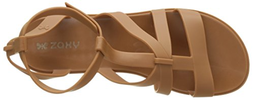 Zaxy Dual Sandal Fem - tira en talón Mujer Marrón (Caramel)