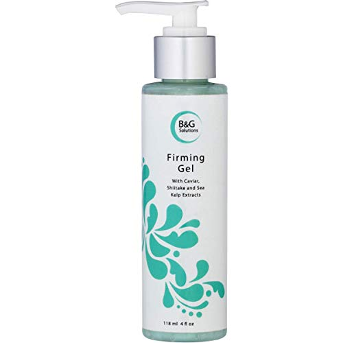 Firming Gel, Skin Tightening Firming Gel By Begamart - Firmer And Tighter Skin, Combats Accelerated Aging Of The Skin, Caviar, Shiitake and Sea Kelp Extracts. Vitamin B5, Marine Collagen, Aloe